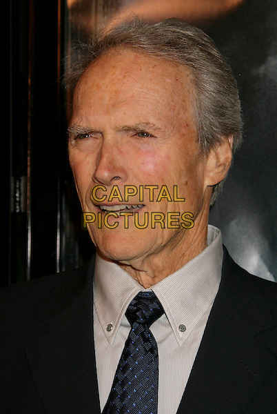 "CLINT EASTWOOD.""Flags of Our Fathers"" Los Angeles Premiere held at the Academy of Motion Picture Arts and Sciences, Beverly Hills, California, USA, 09 October 2006..portrait headshot.Ref: ADM/RE.www.capitalpictures.com.sales@capitalpictures.com.©Russ Elliot/AdMedia/Capital Pictures."