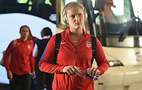 New Orleans, LA - Thursday October 19, 2017: Lindsey Horan during an International friendly match between the Women's National teams of the United States (USA) and South Korea (KOR) at Mercedes Benz Superdome.