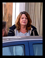 BNPS.co.uk (01202 558833)<br /> Pic: RogerArbon/BNPS<br /> <br /> Elaine Clowes, the ex wife of Ian Clowes, pictured the day after the explosion last November.<br /> <br /> A vengeful husband who almost killed himself and his ex-wife when he blew up their house out of spite is due to be sentenced today.<br /> <br /> Ian Clowes, 67, has previously pleaded guilty to a charge of arson in connection with the huge gas explosion that ripped apart the semi-detached property in Poole, Dorset, last October.