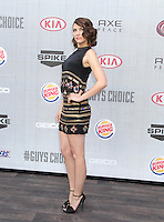 CULVER CITY, CA - JUNE 07: Lauren Cohan at Spike TV's 'Guys Choice 2014' at Sony Pictures Studios on June 7, 2014 in Culver City, California. Credit: SP1/Starlitepics