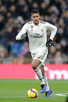 Real Madrid's Raphael Varane during La Liga match. December,15,2018. (ALTERPHOTOS/Alconada)