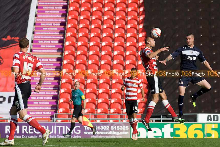 - Doncaster Rovers vs Stevenage - NPower League One Football at the Keepmoat Stadium - 22/09/12 - MANDATORY CREDIT: Mark Hodsman/TGSPHOTO - Self billing applies where appropriate - 0845 094 6026 - contact@tgsphoto.co.uk - NO UNPAID USE.