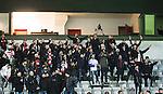 S&ouml;dert&auml;lje 2014-11-09 Fotboll Kval till Superettan Assyriska FF - &Ouml;rgryte IS :  <br /> Assyriskas supportrar jublar efter matchen mellan Assyriska FF och &Ouml;rgryte IS <br /> (Foto: Kenta J&ouml;nsson) Nyckelord:  S&ouml;dert&auml;lje Fotbollsarena Kval Superettan Assyriska AFF &Ouml;rgryte &Ouml;IS supporter fans publik supporters