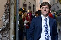 Roma, 11 Ottobre 2107<br /> Giuseppe Civati.<br /> Legge elettorale, Sinistra Italiana, MDP, e Possibile in Piazza contro la fiducia.