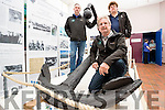 The Anchor of the Aud Will be on display in The  Blennerville Windmill from now until the end of November from left are: Stephen O'Sullivan, John Moriarty and Laurence Dunne who are part of the Tralee Bay Heritage Association.