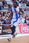 Gipuzkoa Basket Michael Fakuade during Liga Endesa match between San Pablo Burgos and Gipuzkoa Basket at Coliseum Burgos in Burgos, Spain. December 30, 2017. (ALTERPHOTOS/Borja B.Hojas)