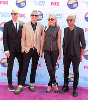UNIVERSAL CITY, CA - JULY 22: No Doubt at the 2012 Teen Choice Awards at Gibson Amphitheatre on July 22, 2012 in Universal City, California. &copy; mpi28/MediaPunch Inc. /NortePhoto.com*<br />