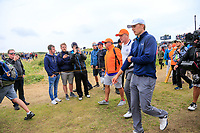 Jordan Spieth (USA) on the 15th during final round of The Open Championship 146th Royal Birkdale, Southport, England. 23/07/2017.<br /> Picture Fran Caffrey / Golffile.ie<br /> <br /> All photo usage must carry mandatory copyright credit (&copy; Golffile | Fran Caffrey)