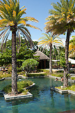 MAURITIUS, Chemin Grenier, South Coast, one of the swimming pools at the luxury hotel Shanti Maurice