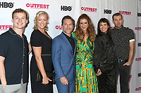 """LOS ANGELES - JUL 20:  Christopher Gray, Mandy Ward, Michael Doyle, Kate Walsh, Zoe Chao, Scot Evans at the 2019 Outfest Los Angeles LGBTQ Film Festival Screening Of """"Sell By"""" at the Chinese Theater 6 on July 20, 2019 in Los Angeles, CA"""