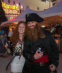 Jessica and Paul during the Pirate Crawl in downtown Reno on Saturday, August 17, 2019.