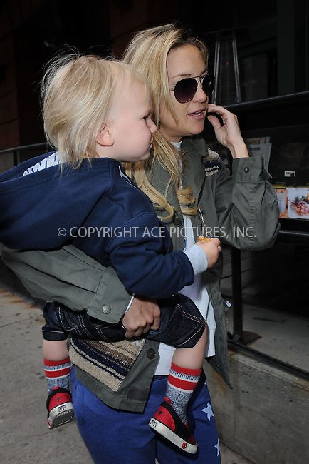 WWW.ACEPIXS.COM . . . . . .April 18, 2013...New York City....Bingham Bellamy and Kate Hudson leaving their hotel in Tribeca on April 18, 2013 in New York City ....Please byline: KRISTIN CALLAHAN - ACEPIXS.COM.. . . . . . ..Ace Pictures, Inc: ..tel: (212) 243 8787 or (646) 769 0430..e-mail: info@acepixs.com..web: http://www.acepixs.com .