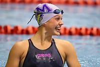 Brearna Crawford, 16yr 50m Breast. record. Swimming New Zealand Aon National Age Group Championships, Wellington Regional Aquatic Centre, Wellington, New Zealand, Tuesday 15 2019. Photo: Simon Watts/www.bwmedia.co.nz