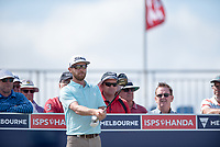 Nick Flanagan (AUS) during the 2nd round of the VIC Open, 13th Beech, Barwon Heads, Victoria, Australia. 08/02/2019.<br /> Picture Anthony Powter / Golffile.ie<br /> <br /> All photo usage must carry mandatory copyright credit (© Golffile | Anthony Powter)