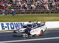 Jun 12, 2016; Englishtown, NJ, USA; NHRA funny car driver Tim Wilkerson during the Summernationals at Old Bridge Township Raceway Park. Mandatory Credit: Mark J. Rebilas-USA TODAY Sports