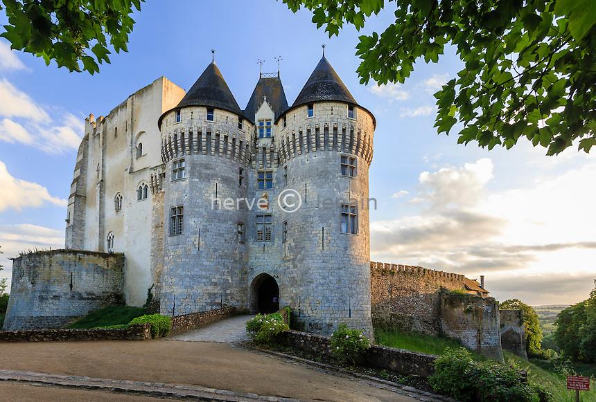 France, Eure-et-Loir (28), Nogent-le-Rotrou, le château Saint-Jean // France, Eure et Loir, Nogent le Rotrou, Saint-Jean castle