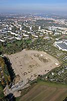 Neubaugebiet Tycksenstrasse: DEUTSCHLAND, MECKLENBURG-VORPOMMERN, ROSTOCK, (GERMANY, MECKLENBURG POMERANIA), 10.10.2010:   Rostock, Suedstadt,  Deutschland, Mecklenburg, Vorpommern, Neubaugebiet,  Luftaufnahme, Luftbild, Luftansicht, Ansicht, Aufsicht, .c o p y r i g h t : A U F W I N D - L U F T B I L D E R . de.G e r t r u d - B a e u m e r - S t i e g 1 0 2, 2 1 0 3 5 H a m b u r g , G e r m a n y P h o n e + 4 9 (0) 1 7 1 - 6 8 6 6 0 6 9 E m a i l H w e i 1 @ a o l . c o m w w w . a u f w i n d - l u f t b i l d e r . d e.K o n t o : P o s t b a n k H a m b u r g .B l z : 2 0 0 1 0 0 2 0  K o n t o : 5 8 3 6 5 7 2 0 9.C o p y r i g h t n u r f u e r j o u r n a l i s t i s c h Z w e c k e, keine P e r s o e n l i c h ke i t s r e c h t e v o r h a n d e n, V e r o e f f e n t l i c h u n g n u r m i t H o n o r a r n a c h M F M, N a m e n s n e n n u n g u n d B e l e g e x e m p l a r !.