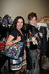 General Hospital Jackie Zeman & Carolyn Hennesy holding Jane Elissa bags at Romantic Times Booklovers Annual Convention 2011 - The Book Industry Event of the Year - April 8, 2011 at the Westin Bonaventure, Los Angeles, California for readers, authors, booksellers, publishers, editors, agents and tomorrow's novelists - the aspiring writers. (Photo by Sue Coflin/Max Photos)