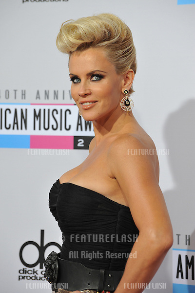Jenny McCarthy at the 40th Anniversary American Music Awards at the Nokia Theatre LA Live..November 18, 2012  Los Angeles, CA.Picture: Paul Smith / Featureflash