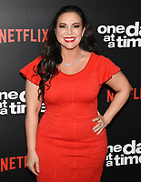 "07 February 2019 - Los Angeles, California - GLORIA CALDERON KELLETT. Netflix's ""One Day at a Time"" Season 3 Premiere and Global Launch held at Regal Cinemas L.A. LIVE 14. Photo Credit: Billy Bennight/AdMedia"