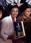 Natalie Cole 1979 February 5 Hollywood Walk Of Fame<br /> © Chris Walter