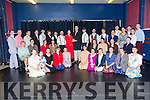 rehearsing for the  Light Opera Society of Tralee (LOST) production of Lord Lloyd Webber's EVITA running from Wednesday to Saturday, March 22 nd to 25 th at Siamsa Tire, Tralee