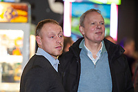 Pictured: Steve Cooper Head Coach of Swansea City during the Swansea player and fans bowling evening at Tenpin Swansea, Swansea, Wales, UK. Wednesday 22 January 2020