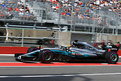 June 10th 2017, Circuit Gilles Villeneuve, Montreal Quebec, Canada; Formula One Grand Prix, qualifying; Lewis Hamilton - Mercedes AMG Petronas F1