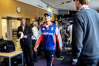 Picture by Alex Whitehead/SWpix.com - 28/05/2015 - Cricket - 2nd Investec Test: England v New Zealand - Headingley Cricket Ground, Leeds, England - England captain Alastair Cook speaks to the media during the pre-match press conference.