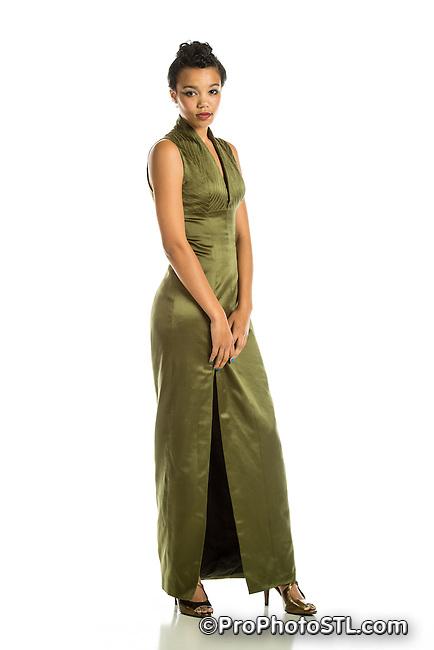 Michele L. Sansone fashion designs - model Armanda