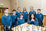 Pictured at the Tralee Credit Union Schools Quiz Brandon hotel on Sunday were Paula Holmes, Sean Morris, Tara Kilgallen, Coren Hughes, Jack Doyle, Adam Dineen, Cormac Gallagher and Aoife Kearns from Scoil Eoin Balloonagh