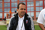 11 January 2015: FC Dallas head coach Oscar Pareja. The 2015 MLS Player Combine was held on the cricket oval at Central Broward Regional Park in Lauderhill, Florida.