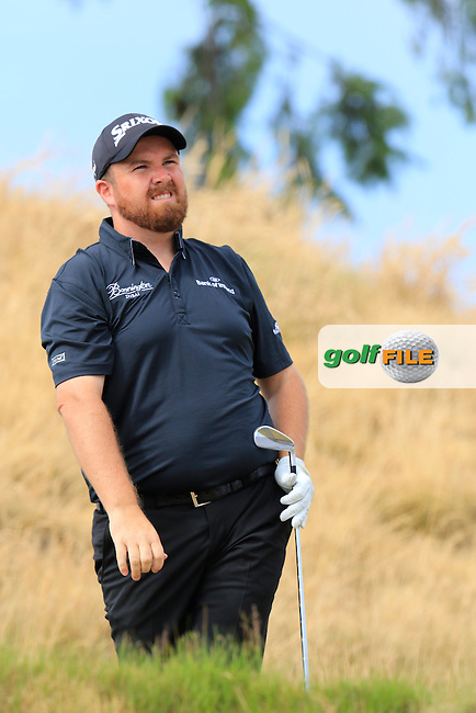 Shane LOWRY (IRL) tees off the 16th tee during Thursday's Round 1 of the 2015 U.S. Open 115th National Championship held at Chambers Bay, Seattle, Washington, USA. 6/19/2015.<br /> Picture: Golffile | Eoin Clarke<br /> <br /> <br /> <br /> <br /> All photo usage must carry mandatory copyright credit (&copy; Golffile | Eoin Clarke)
