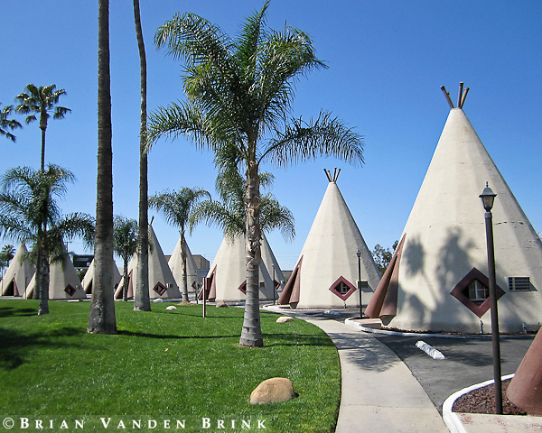 WIGWAM MOTEL, Built 1949, Rialto, California