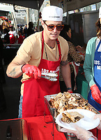 21 December 2018 - Los Angeles, California - Cameron Douglas. Los Angeles Mission Christmas Meal for the Homeless held at Los Angeles Mission. Photo Credit: F. Sadou/AdMedia