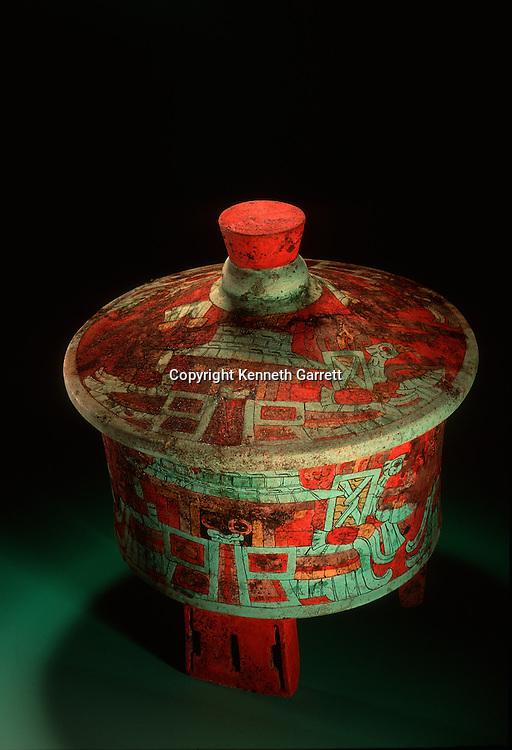 Honduras; Maya; Copan, Dazzler Vessel, 450 AD