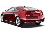 Rear three quarter view of a 2011 Cadillac CTS Coupe Premium