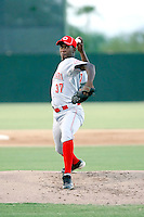 Radhames Quezada - AZL Reds - 2010 Arizona League.Photo by:  Bill Mitchell/Four Seam Images..