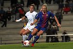 Spanish Women's Football League Iberdrola 2017/18 - Game: 9.<br /> FC Barcelona vs Madrid CFF: 7-0.<br /> Paula Serrano vs Toni Duggan.