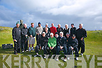 Green Jackets from the USA have been visiting Tralee Golf Club 22 times, here on Tuesday.Pictured  Front, l-r Ron Coleman, Arthur Waldbaum, Bob Stoke, Jim Shea, Joe Calles Kevin Hersey, Al Seager.  Back left to right, Steven Derlacki, Dan Keegan, Don Brass, Edgar Menezes, Roger Holten, Scott Gilpin, Ed Gilpin, Derry O'Keeffe, Todd Gilpin, Daffian Oakley
