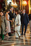 Dolores Delgado attends to Sapnish National Day palace reception at the Royal Palace in Madrid, Spain. October 12, 2018. (ALTERPHOTOS/A. Perez Meca)