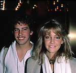 Heather Locklear with her brother Checking into the Hilton Hotel in<br />