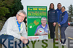 Operation Transformation star Paudie O'Mahony who is inviting everyone to the Kerry Recreation and Sports Partnership walk in Killarney on Saturday with l-r: Linda O'Shea, Eoin Murphy and Cora Carrigg