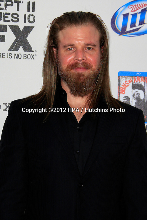 """LOS ANGELES - SEP 8:  Ryan Hurst arrives at the """"Sons of Anarchy"""" Season 5 Premiere Screening at Village Theater on September 8, 2012 in Westwood, CA"""