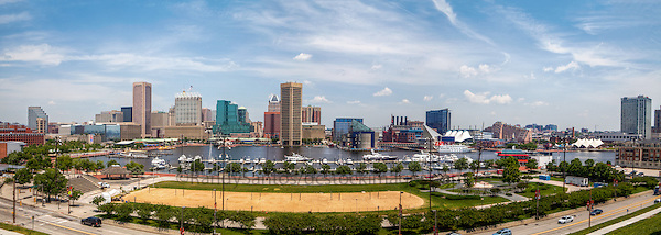 Baltimore Inner Harbor Baltimore Maryland