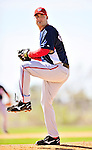 1 March 2010: Washington Nationals' relief pitcher Jason Bergmann on the mound during Spring Training at the Carl Barger Baseball Complex in Viera, Florida. Mandatory Credit: Ed Wolfstein Photo