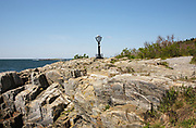 Bailey Island in Harpswell, Maine USA, which is on the New England seacoast