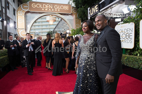 """Nominated for BEST PERFORMANCE BY AN ACTRESS IN A TELEVISION SERIES – DRAMA for her role in """"How to Get Away with Murder,"""" actress Viola Davis attends the 73rd Annual Golden Globes Awards at the Beverly Hilton in Beverly Hills, CA on Sunday, January 10, 2016. Photo Credit: HFPA/AdMedia"""