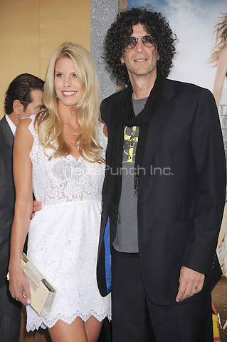 Beth Ostrosky Stern and Howard Stern at the film premiere of 'Sex and the City 2' at Radio City Music Hall in New York City. May 24, 2010.Credit: Dennis Van Tine/MediaPunch