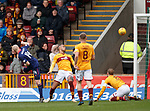 17.02.2019: Motherwell v Hearts: Steven Naismith scores for Hearts